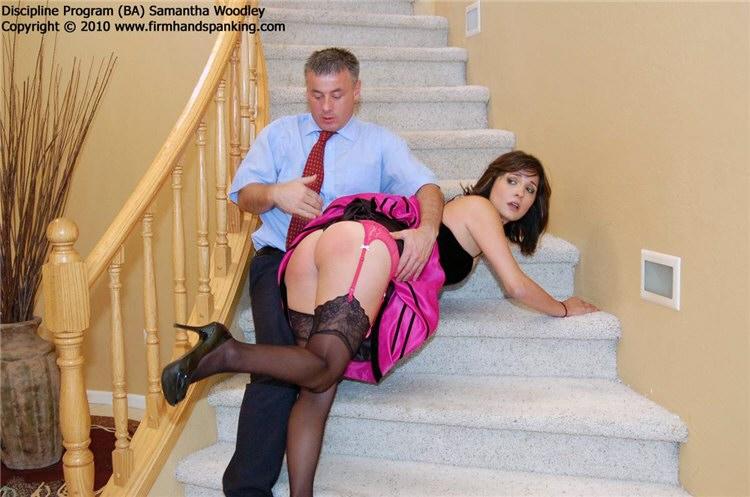 spank Samantha woodley getting