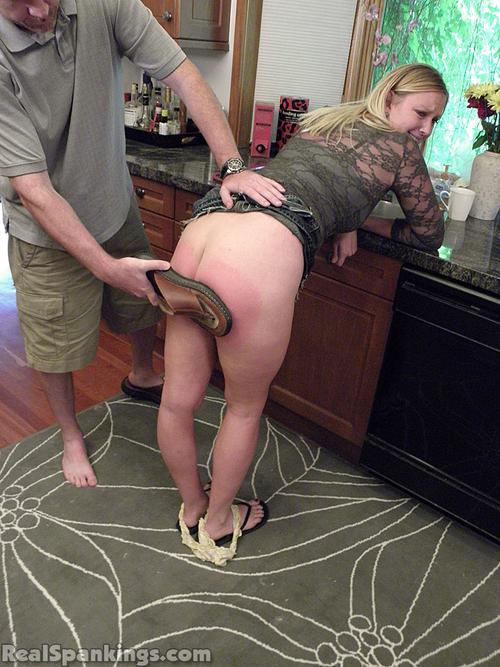 flip flop spanking