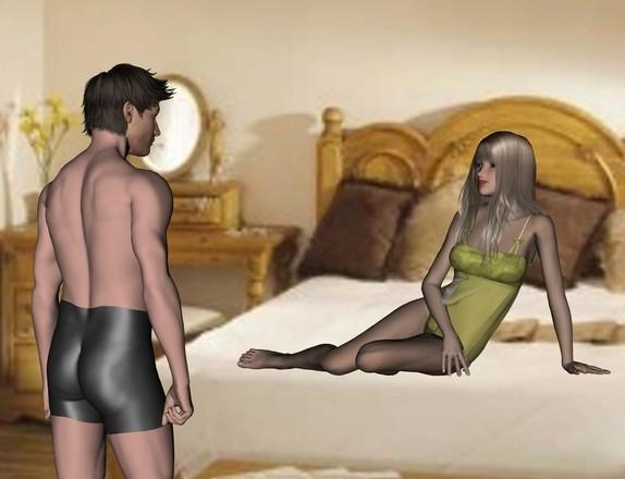 Adult summer dating sim