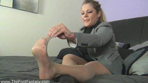 The smell of pantyhose