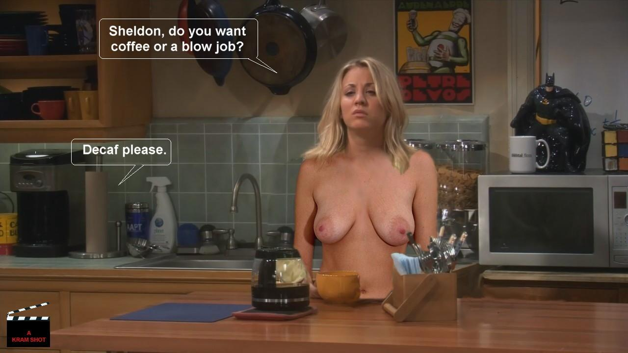 Penny on big bang nude