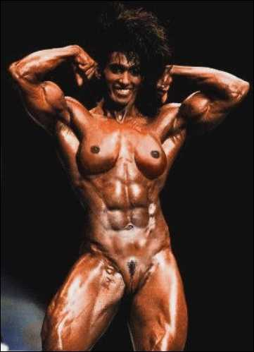 Black Naked Female Bodybuilders 102