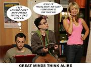 Big bang theory comic strip