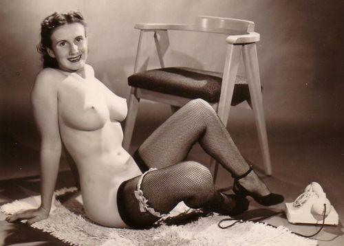 Vintage debby westmore 1950039s nudist 3