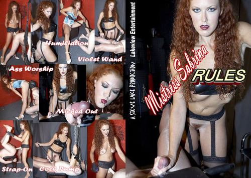 Mistress Sabrina Rules  Female Domination