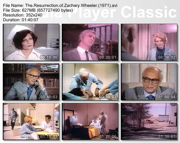 [Classic Sci-Fi ] The Resurrection of Zachary Wheeler (1971).avi