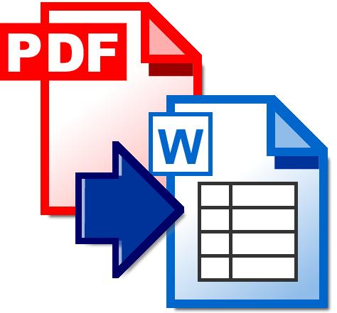Transforma de PDF a WORD