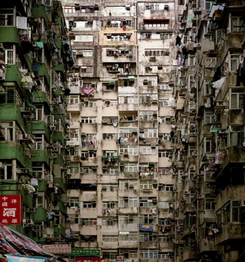 La ciudad amurallada de kowloon taringa - Apartamentos en hong kong ...