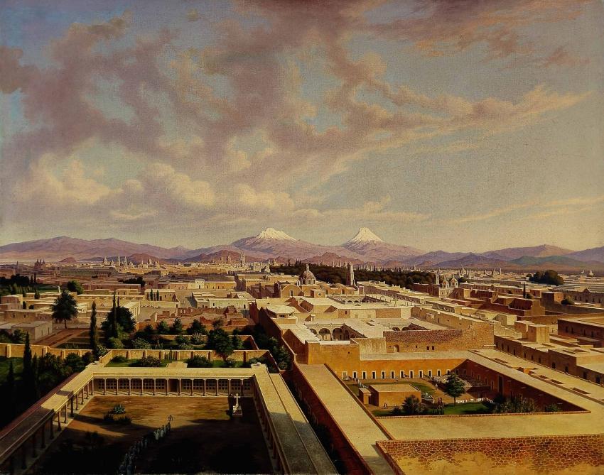 Imagenes de Puebla de los Angeles, México. Pueb1860