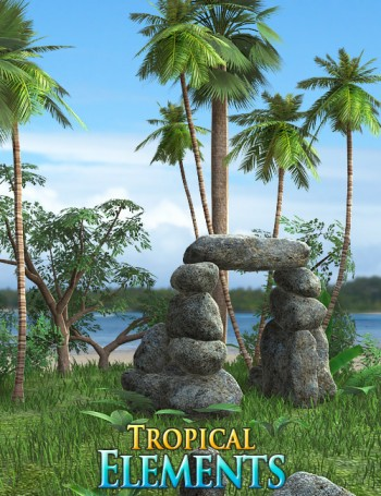 Tropical Quest - Tropical Cave - Tropical Quest - Jungle -  Tropical Elements