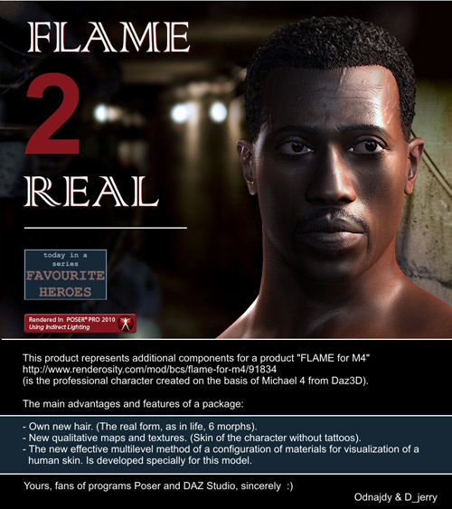 FLAME 2 Real for M4 - FLAME for M4