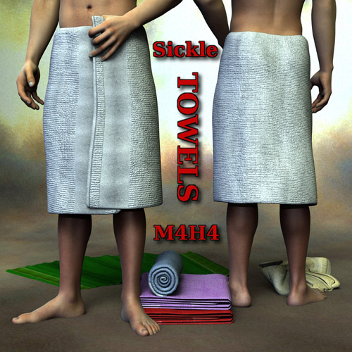 Sickle Towels M4H4
