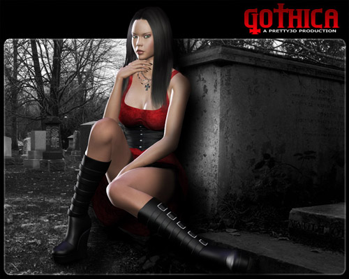 Gothica - ANXIETY - Synner - Midnight - Fashionable