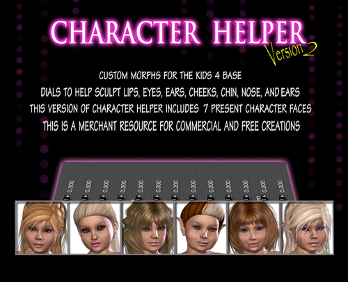 Character Helper The Kids 4