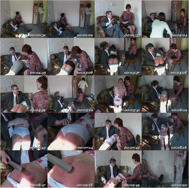 Thrashed Assistants Spanking