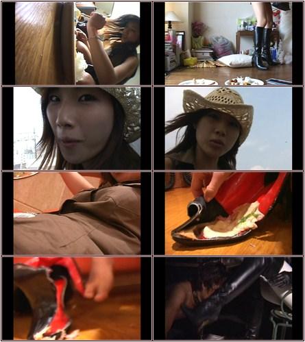 Love & Boots vol.8  Asian Femdom