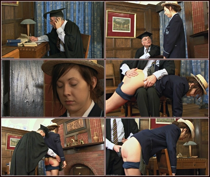 Expulsion or The Slipper   Spanking
