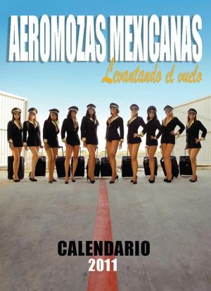 Aeromozas Mexicanas Calendario 2011 4