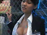 Maria Ozawa - Beautiful News Announcer Nakadashi