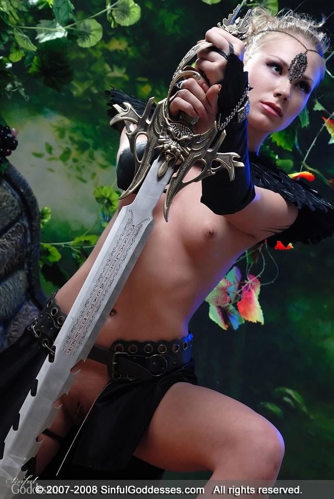Guerreras,espadas y trolas