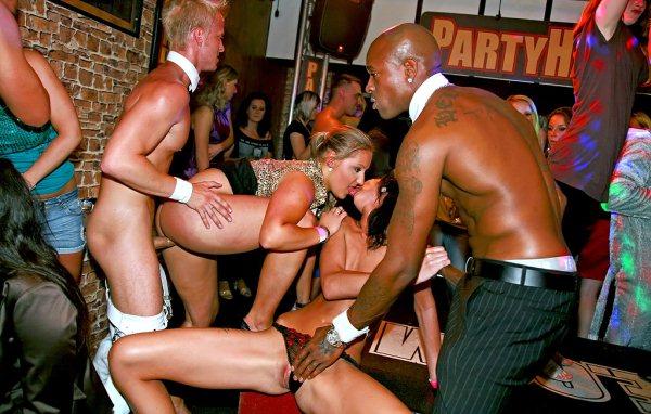 Three super hot babes going crazy part2