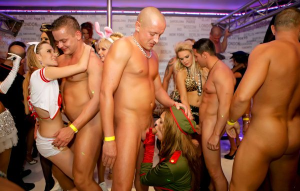 Cfnm naked party