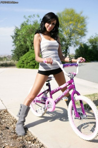 Breanne Benson - Hot Bitch On A Bike