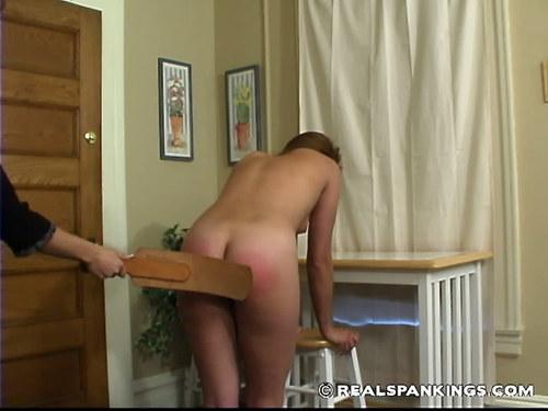 Jailbait girls being spanked