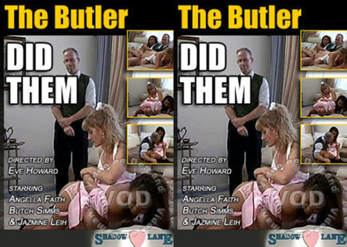 The Butler Did Them FilePost Spanking