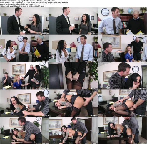 Mason MOore - Tight Little Asshole Diaries @ P0rnst@rPun!shm3nt - Anal HD