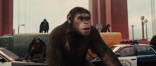 Geneza planety małp / Rise of the Planet of The Apes (2011) PL.480p.BRRip.RMVB-LLO / Lektor PL
