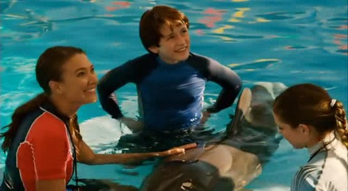 Mój przyjaciel delfin / Dolphin Tale (2011) PL.DVDRip.XviD-FRUGO / Lektor PL