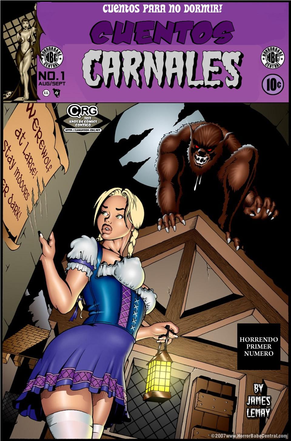 cuentos Carnales (comic español color)