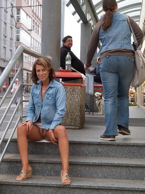 Pilladas en la calle