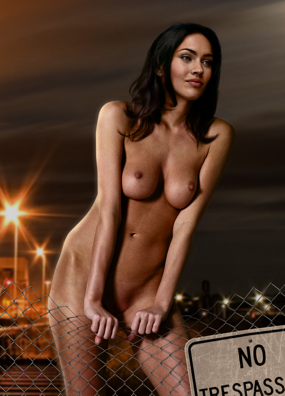 Megan fox naked