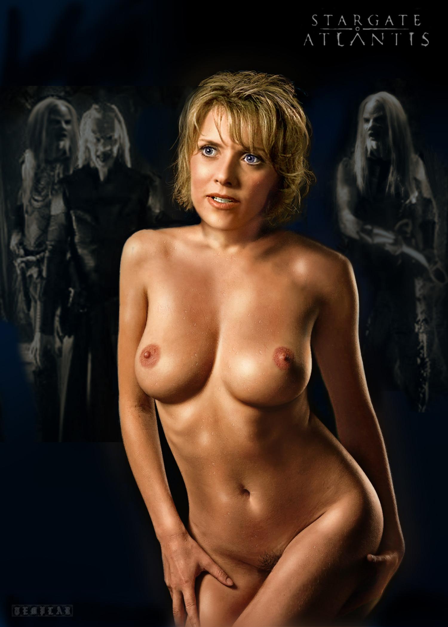 Amanda Tapping Nude Pics Pics, Sex Tape Ancensored