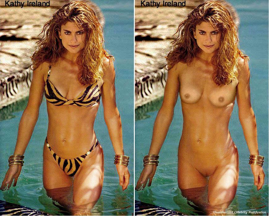 Young kathy ireland topless