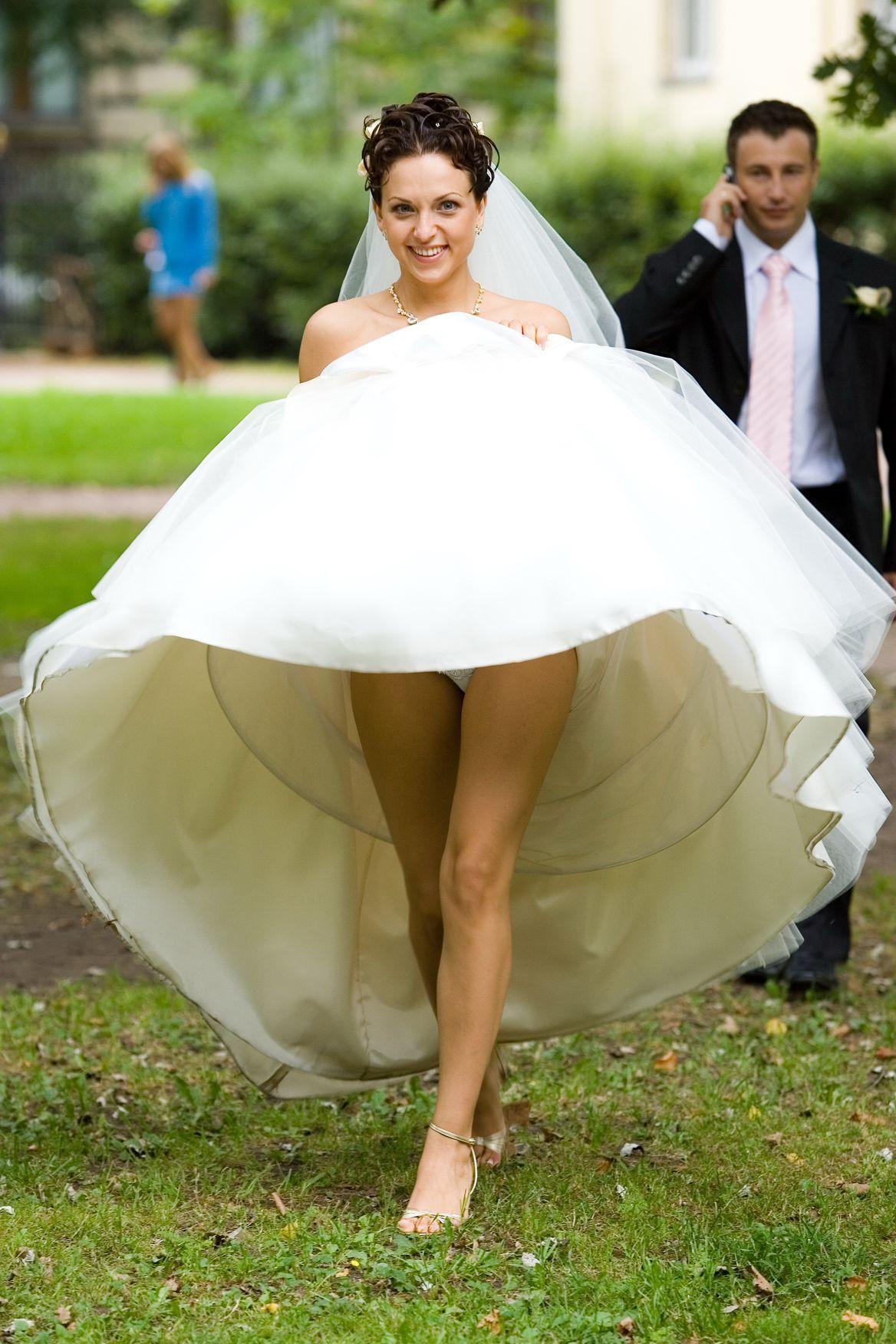 Wedding upskirt pictures