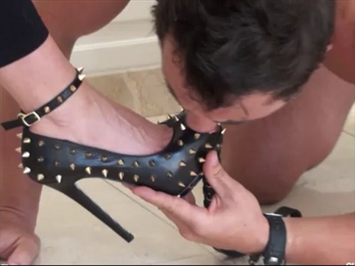 Just The Spikes Femdom