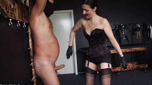 Punished At Cumming Femdom